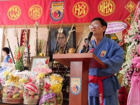 """The 5th Commemoration of Patriarch Master """"Võ Sư Chưởng Môn Lê Sáng 2015"""