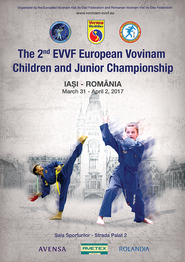 THE 2nd EVVF EUROPEAN VOVINAM CHILDREN AND JUNIOR CHAMPIONSHIP