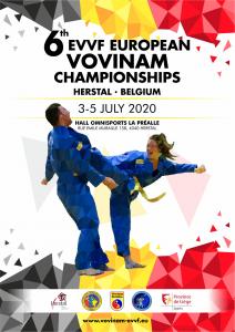 3rd EVVF European Vovinam Junior Championships 2019_Poster