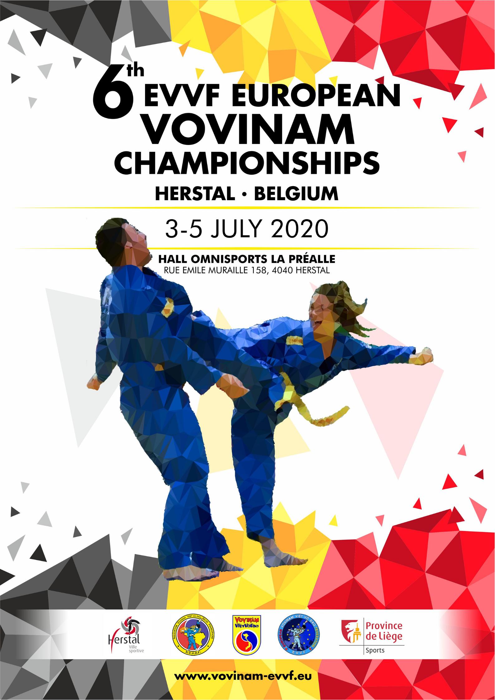 THE 6TH EVVF EUROPEAN VOVINAM CHAMPIONSHIPS
