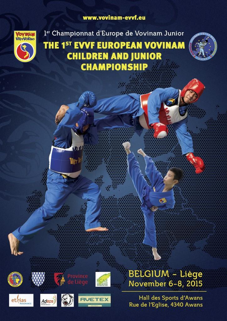 EVVF Junior Championship 2015 - Poster