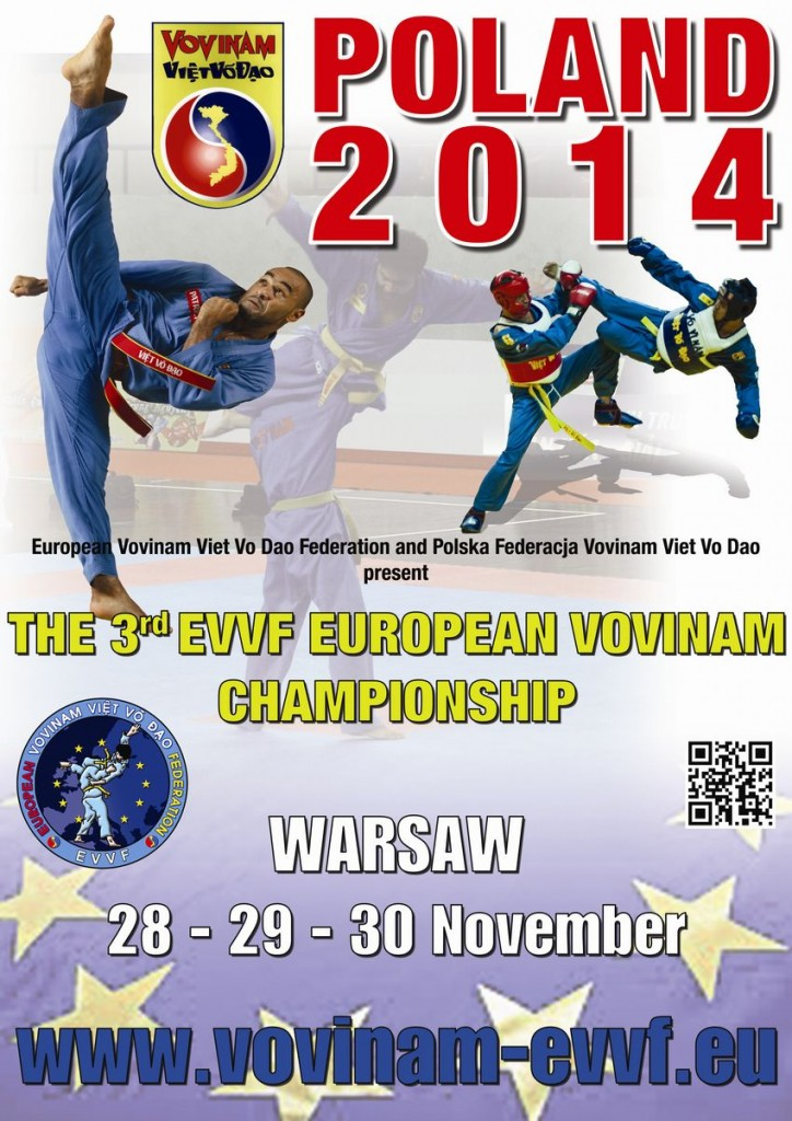 THE 3rd EVVF EUROPEAN VOVINAM CHAMPIONSHIP - POLAND 2014