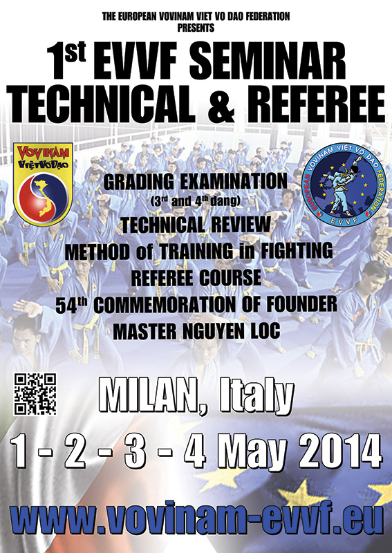 THE 1st EVVF TECHNICAL AND REFEREE SEMINAR - ITALY 2014