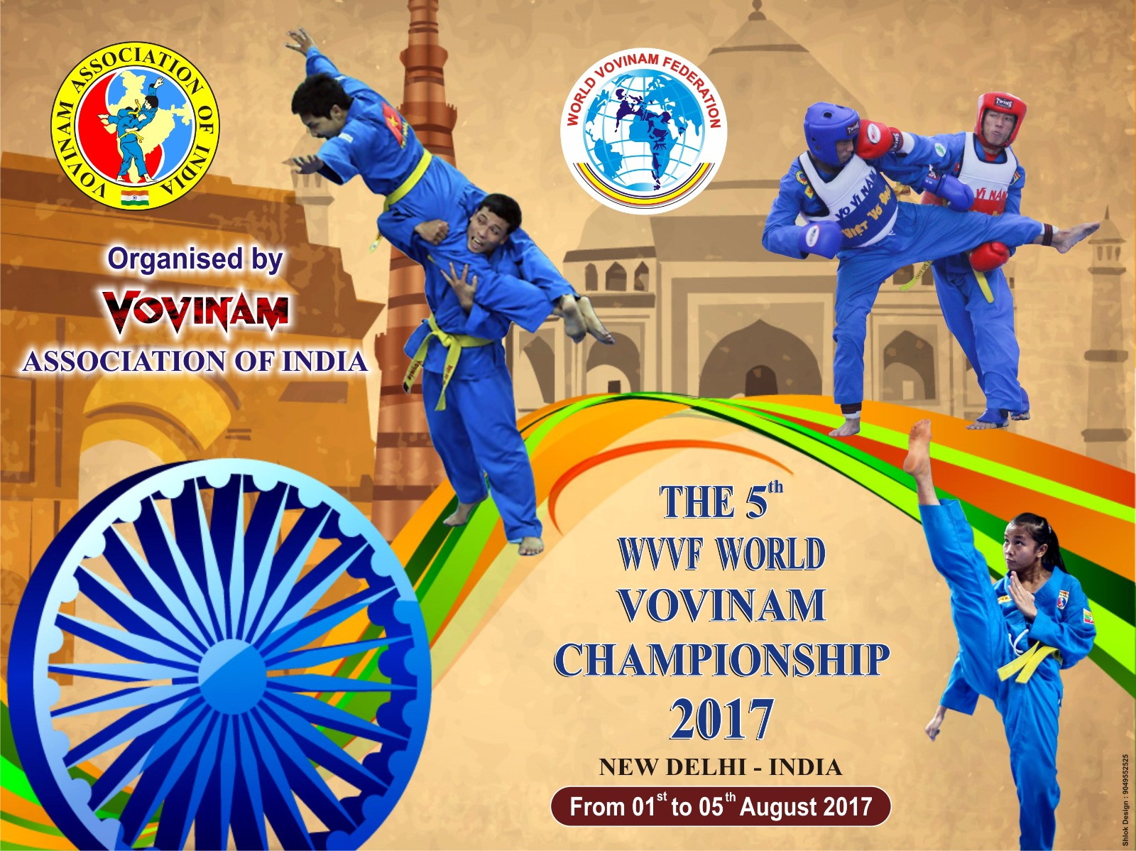 THE 5TH WVVF WORLD VOVINAM CHAMPIONSHIP 2017