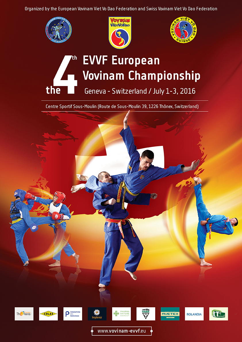 THE 4TH EVVF EUROPEAN VOVINAM CHAMPIONSHIP 2016